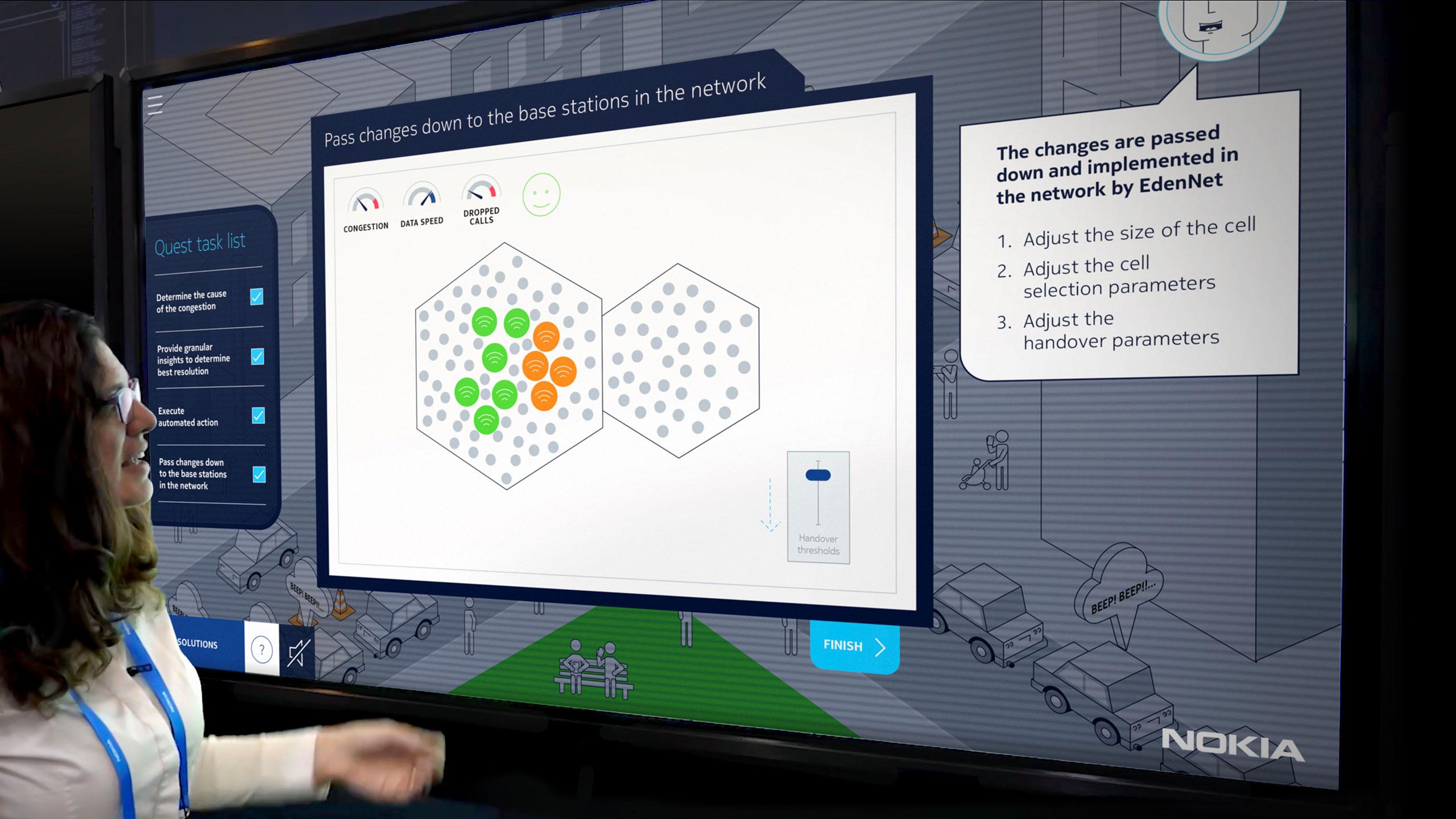 Nokia AI Driven Performance Demo